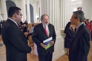 Día de Oración por la Paz en El Salvador.Mario Vega y Francisco Altschul.